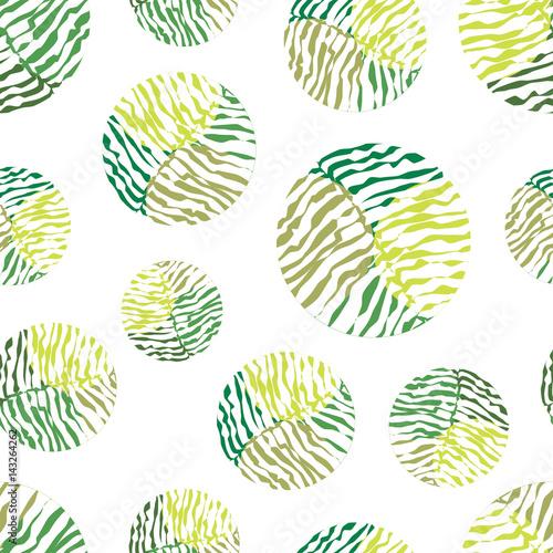 polka-dot-zielony-wektor-wzor