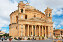 Rotunda Dome Church Of Mosta M...