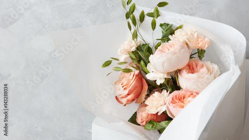 Fotografía  Bouquet of beautiful flowers