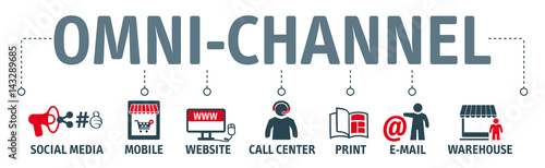 Valokuva Banner Omni-Channel