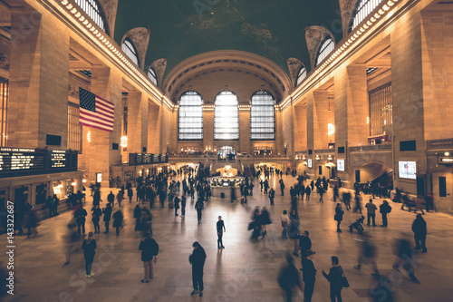 Grand Central Station - New York Tablou Canvas