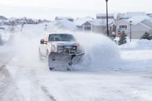 Snow Plow Truck
