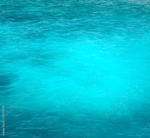 Papiers peints Recifs coralliens Turquoise water