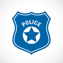 Police Officer Badge Icon