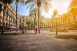 Plaza Real in Barcelona