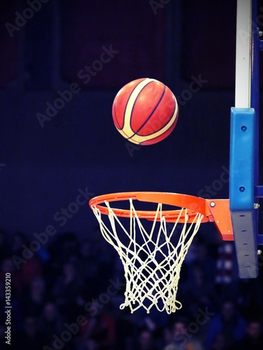 great shooting and basketball going into the basket buy this stock