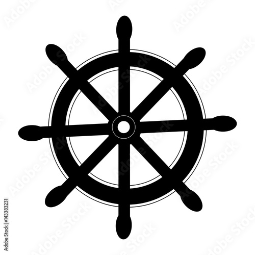 timon maritime isolated icon Canvas Print