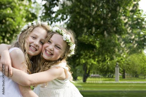 Fotografie, Obraz  First Communion - happy day
