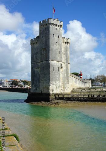 tour Saint Nicolas la Rochelle Canvas-taulu