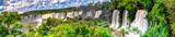 Fototapeta Natura - Argentina panoramic falls