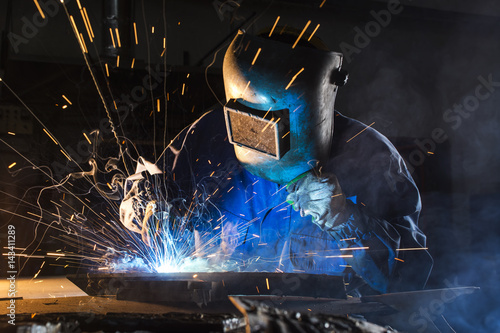 welding argon Wallpaper Mural