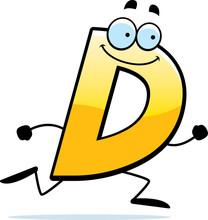 Cartoon D Running