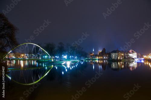 Kładka Słodowa Pedestrian Bridge, Wroclaw.