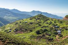Lesotho - Village Typique