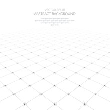 Abstract Background With A Grid Of Geometric Elements.