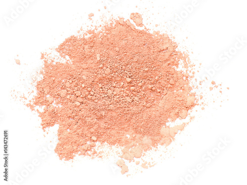 Valokuva  Crushed face powder close up