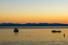 Sunset On Lake Champlain