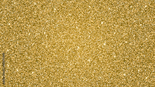 Abstract shiny gold glitter background Wallpaper Mural