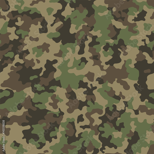Fotografía  Abstract military or hunting camouflage background