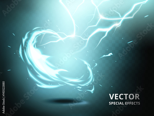 electricity current special effect Wallpaper Mural