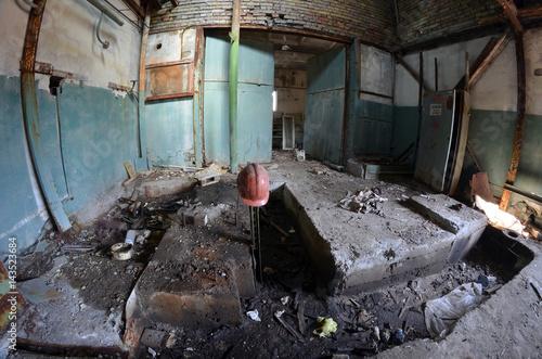 Staande foto Industrial geb. Industrial decay.Kiev