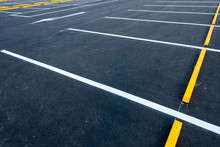 Empty Car Parking Lots, Outdoo...