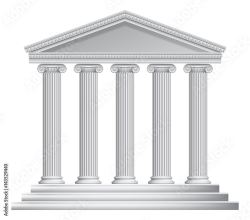 Fotomural Greek or Roman Temple Columns