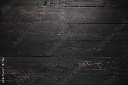 Obrazy czarne  black-wooden-table-texture-background