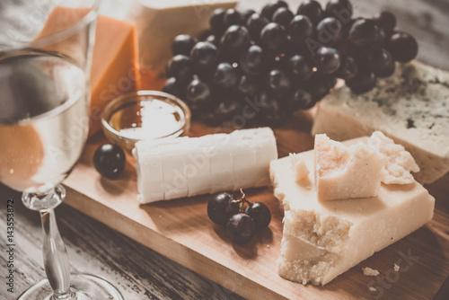 Carta da parati Cheese board