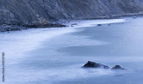 Fotobehang Antarctica landscape at the coast