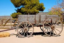 Vintage Wooden Wagon