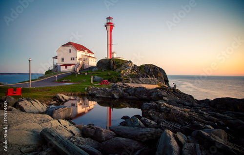 Foto auf Leinwand Leuchtturm lighthouse in nova scotia