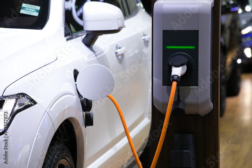 Photo  Power supply for electric car charging