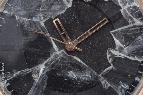 Broken wristwatch