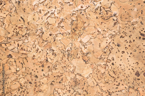 Photo sur Toile Les Textures texture of cork board wood surface, natural wooden decorative panel, brown abstract background