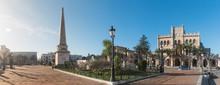 Es Born Square In Ciutadella, ...