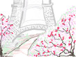Ilustracja paryż