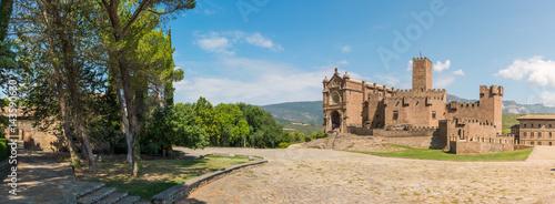 Castle of Javier, Navarra. Spain