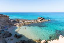 Caló D'es Mort, Formentera. Spain