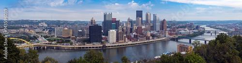 Canvas Prints Antwerp Pittsburgh's skyline from Mount Washington