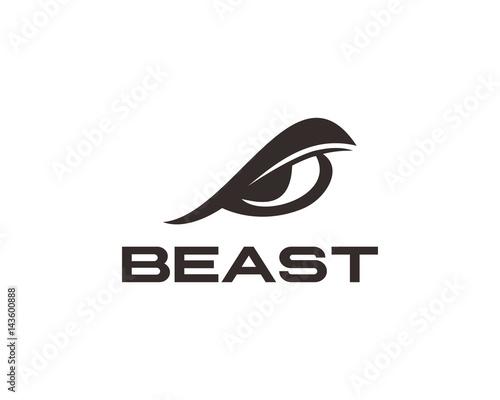 Beast Eye Logo Wall mural
