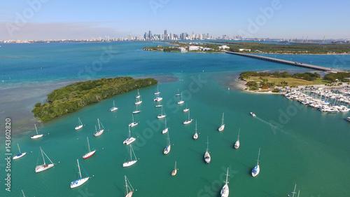 Fotografie, Obraz  Miami Skyline