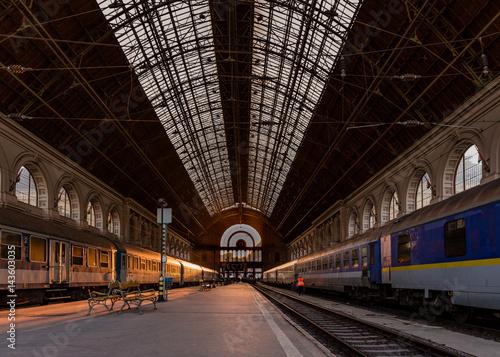 Budapest Hungary Keleti train station