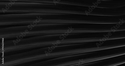 Fototapeta  3D Abstract Metallic Reflection