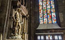 Saint Bartholomew Statue