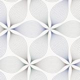 abstract linear petal flower. Vector pattern - 143628808