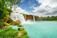 The Dray Nur Waterfall In Dak Lak Province. Vietnam