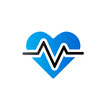 Duo Tone Icon - Heart rate