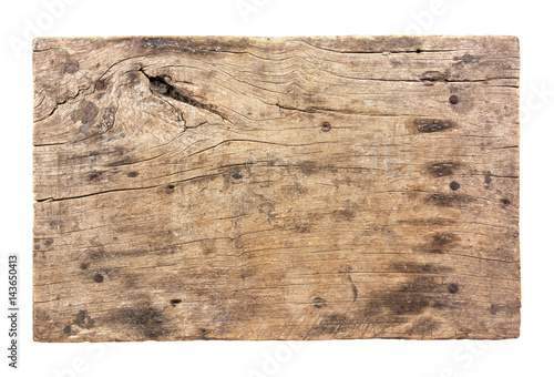 Photo Stands Wood Wooden signboard isolated on white background.Old wooden signboard isolated.Old wooden board isolated