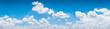 Leinwandbild Motiv blue sky background.